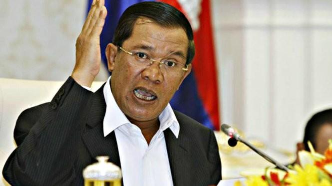 Thủ tướng Hun Sen - Ảnh: Reuters.