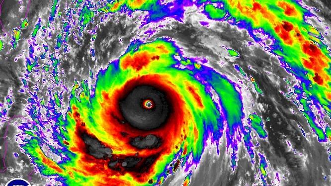 Siêu bão Mertanti.