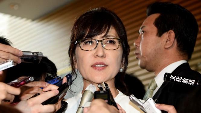 Bộ trưởng quốc phòng Nhật Bản Tomomi Inada.