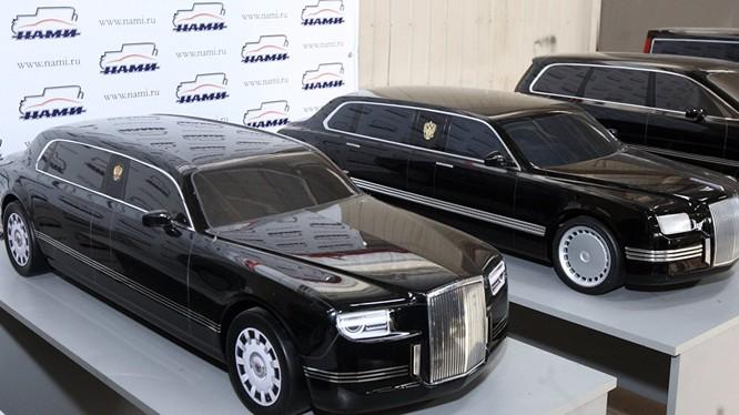 Xe sang của Putin sẽ mở đường cho động cơ mới của Nga.