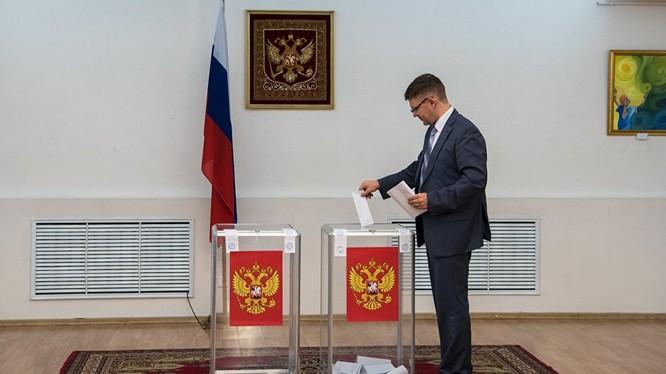 Nga bắt đầu tiến hành bầu cử Duma Quốc gia.