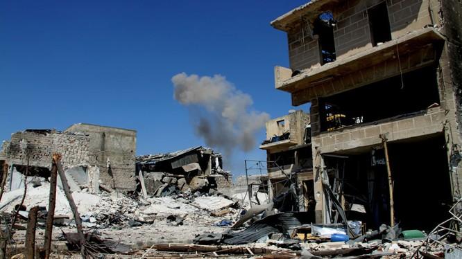 Iran tố Vụ Mỹ hỗ trợ các chiến binh ở Syria.
