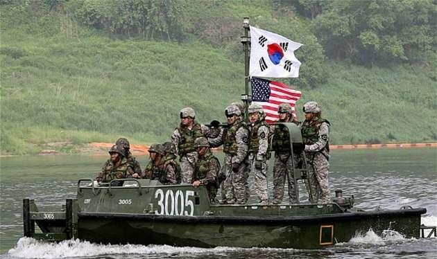 Liên quân Mỹ - Hàn (ảnh minh họa).