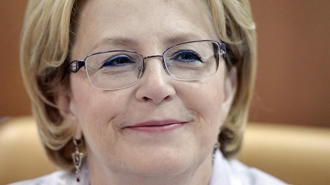 Bộ trưởng Y tế Nga Veronika Skvortsova.