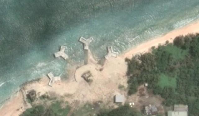 Xuất hiện 4 kết cấu bí mật, kỳ lạ trên đảo Ba Bình ở quần đảo Trường Sa (chủ quyền của Việt Nam)