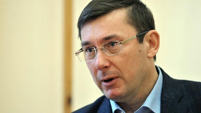 Tổng công tố Ukraine Yuri Lutsenko.