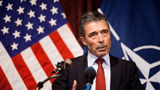 Cựu Tổng thư ký NATO Anders Fogh Rasmussen.