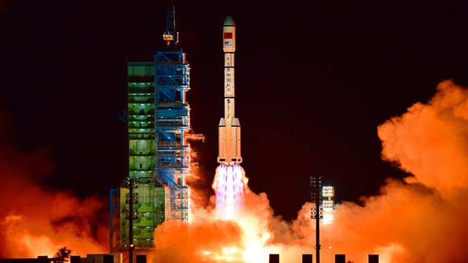 Trung Quốc thừa nhận không kiểm soát được Trạm không gian Thiên Cung-1. (ảnh minh họa Sputnik).