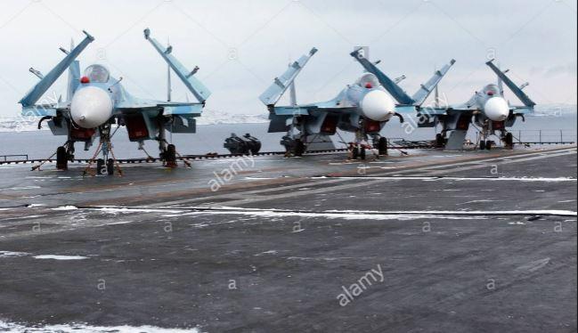 Lực lượng không quân của Hải quân Nga.