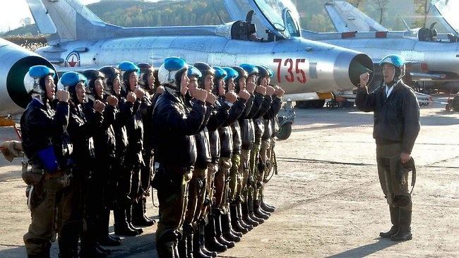 Không quân Bắc Triều Tiên (ảnh minh họa)