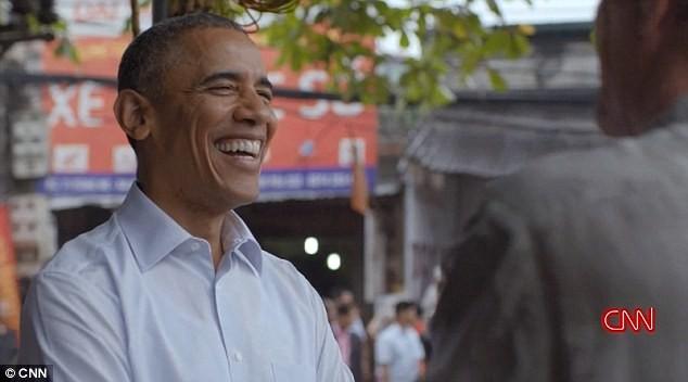 Tổng thống Obama ở Việt Nam hồi tháng 5.2016.