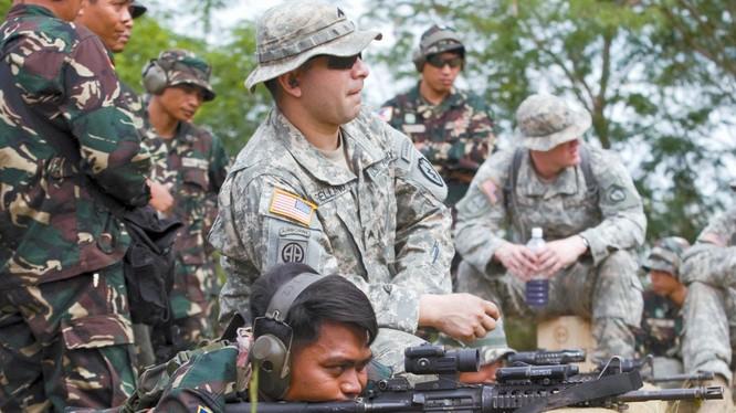 Mỹ xác nhận sẽ tập trận chung với Philippines (ảnh minh họa)