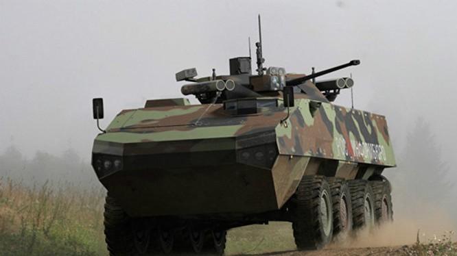 Xe bọc thép chiến đấu của Nga sẽ được bổ sung thiết bị hộp đen đặc biệt (ảnh minh họa)