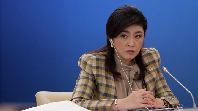 Bà Yingluck Shinawatra.