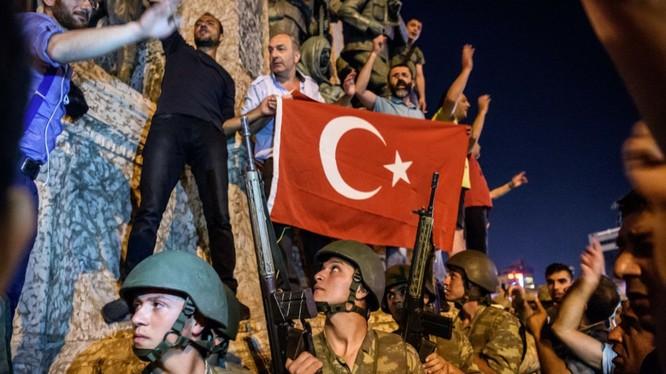 Đảo chính ở Thổ Nhĩ Kỳ cách đây không lâu.