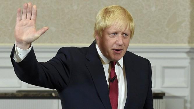 Ông Boris Johnson.