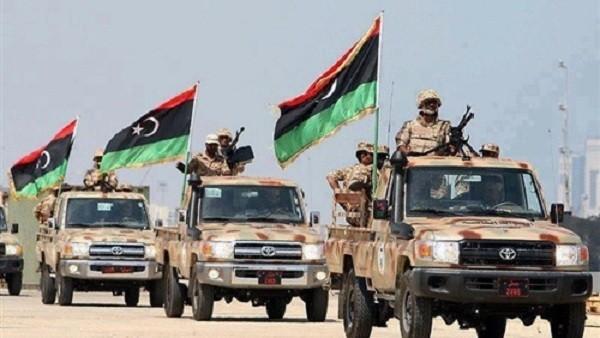 Quân đội Libya.