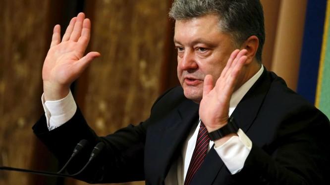 Tổng thống Ucraine Pyotr Poroshenko.