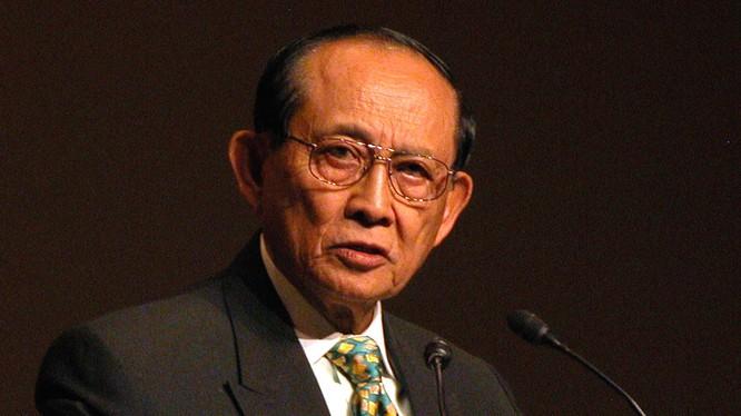 Ông Fidel Ramos, cựu Tổng thống Philippines 1992-1998.