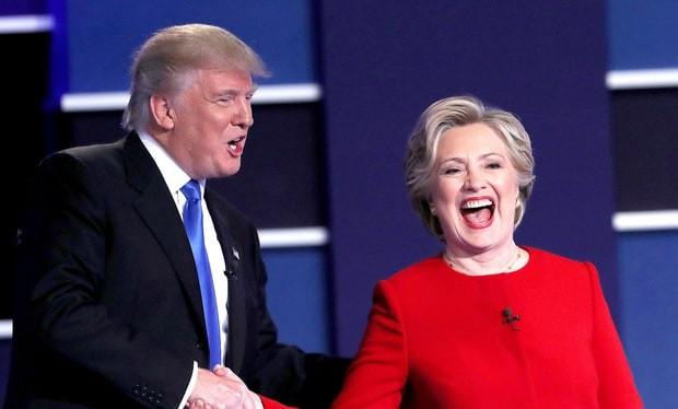 Chuyên gia: Nga coi việc có nữ Tổng thống Mỹ là một mối đe dọa. (ảnh minh họa: Tranh luận bầu cử Mỹ)