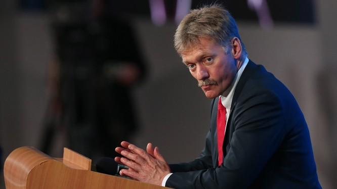 Ông Dmitry Peskov - thư ký báo chí của Tổng thống Nga Putin.