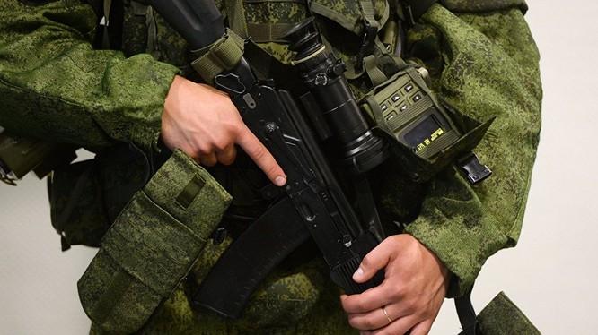 Quân đội Nga đã nhận khoảng 100 nghìn bộ trang bị Ratnik