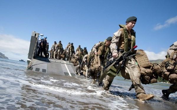 Binh lính New Zealand trong một cuộc tập trận. (Nguồn: radionz.co.nz)