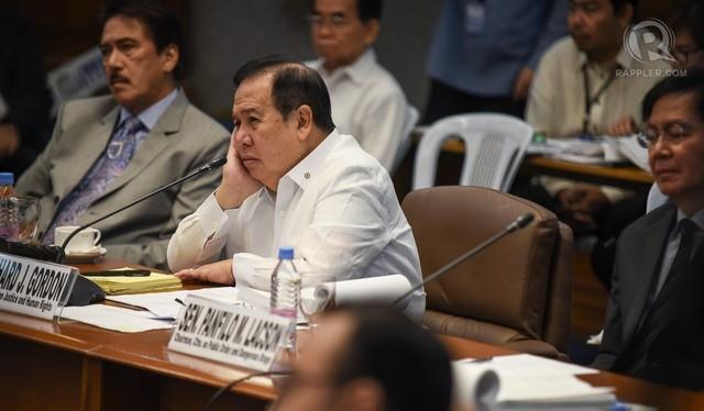 Thượng nghị sĩ Richard Gordon khuyên Tổng thống Duterte nên bớt nói luyên thuyên.