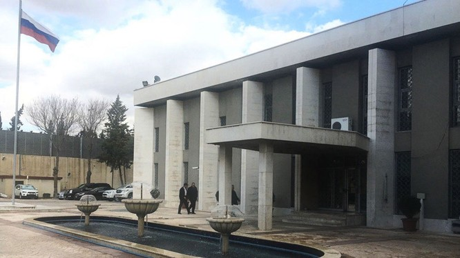 Đại sứ quán Nga tại Syria bị tập kích súng cối