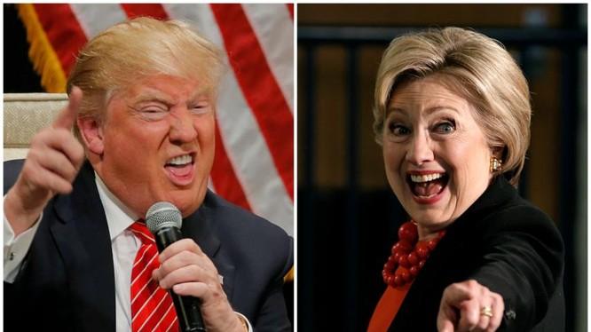 Thăm dò dư luận: Người Trung Quốc thích Hillary Clinton hơn Donald Trump