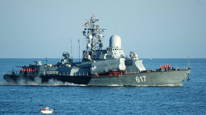Tàu tên lửa thứ 3 của Hạm đội Biển Đen được điều động tới Syria