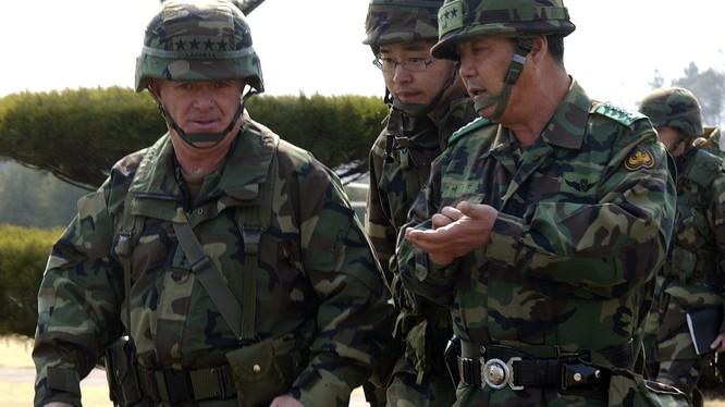 Tướng lĩnh liên quân Mỹ - Hàn.