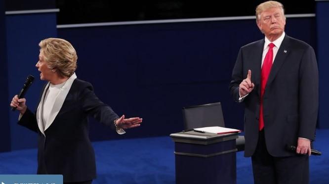 Hillary Clinton và Donald Trump