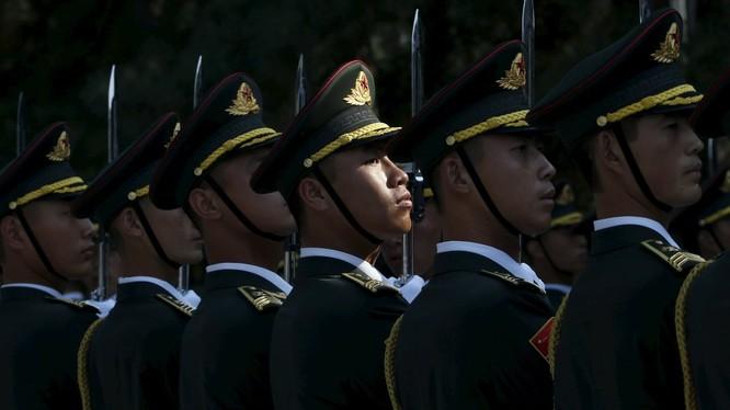 Quân đội Trung Quốc (ảnh minh họa, nguồn: Sputnik, Reuters).