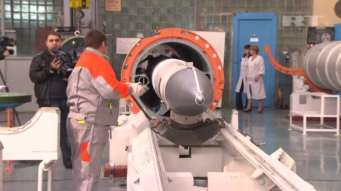 Đầu đạn tên lửa phòng không của Nga đang trong dây truyền sản xuất (ảnh minh họa)