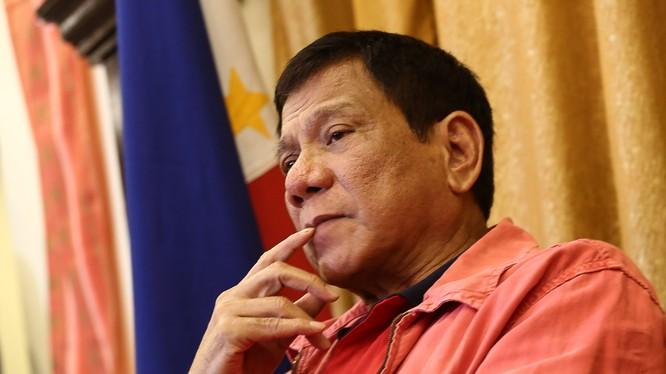 Tổng thống Phillipines Rodrigo Duterte.