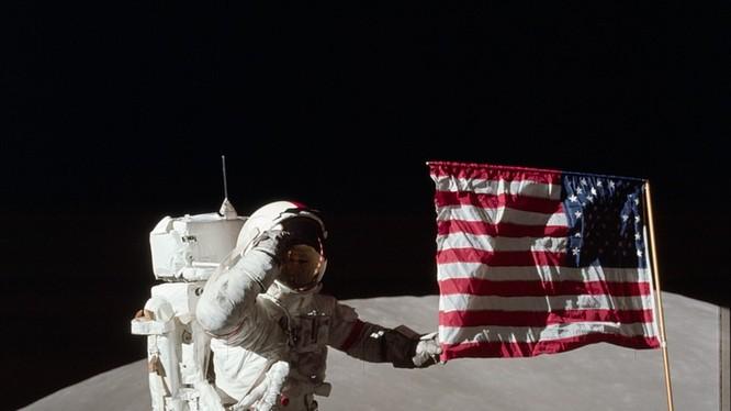 Dấu vết của các phi hành gia Mỹ đổ bộ lên mặt trăng đang dần biến mất (hình minh họa)