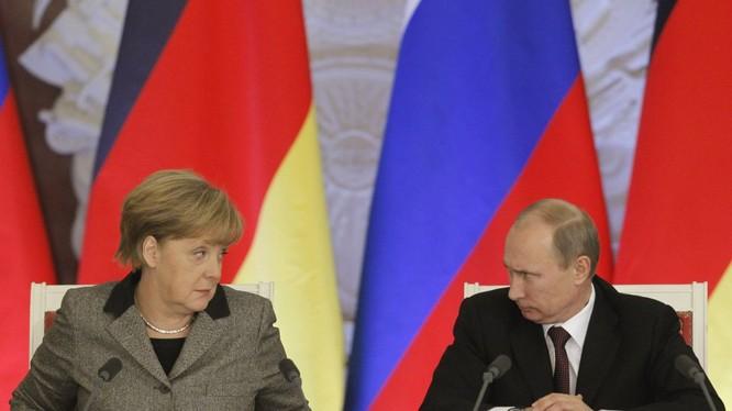 Lãnh đạo Nga - Đức (ảnh minh họa)
