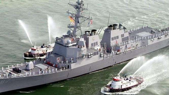 Khu trục hạm USS Mason (ảnh minh họa)