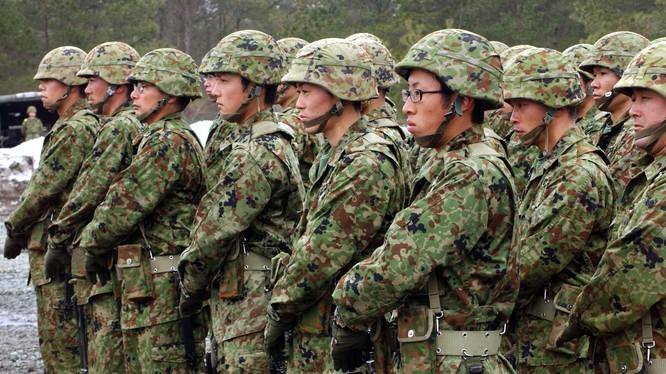 Quân đội Nhật Bản (ảnh minh họa)