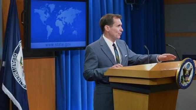 Phát ngôn viên Bộ ngoại giao Mỹ John Kirby.