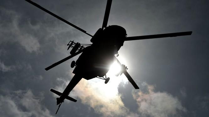 Trực thăng Mi-8 rơi tại Nga, 19 nhân viên tập đoàn dầu khí thiệt mạng.