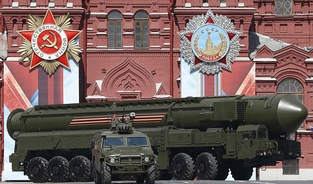 Tên lửa xuyên lục địa RS-24 của Nga (ảnh minh họa)