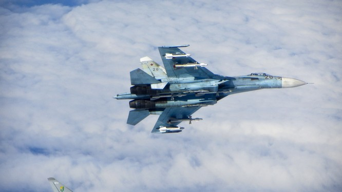 Máy bay Nga áp sát máy bay liên quân Mỹ trên không phận Syria (ảnh minh họa)