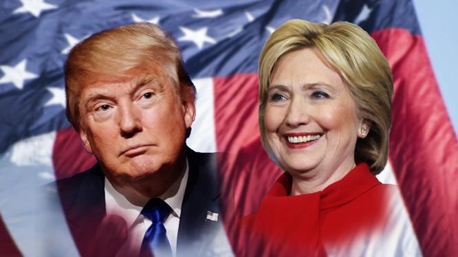 Hai ứng viên của đảng Cộng Hòa và Dân Chủ.