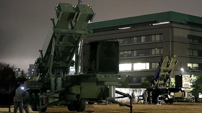 Quân đội Nhật Bản duy trì trạng thái sẵn sàng bắn hạ tên lửa Triều Tiên (ảnh minh họa, tên lửa Patriot)
