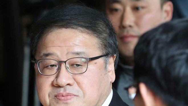 Cựu Thư ký Ahn Jong-beom của Tổng thống Hàn Quốc Park Geun-hye. (Nguồn: AP).