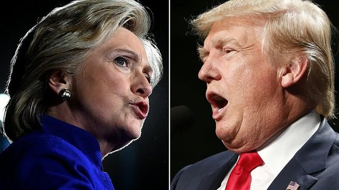 Sputnik: Truyền thông Mỹ đưa ra các cuộc thăm dò mâu thuẫn về Trump và Clinton
