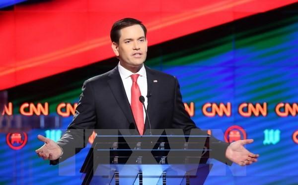 Thượng nghị sỹ Cộng hòa Marco Rubio đã tái đắc cử ghế Thượng nghị sỹ đại diện cho bang Florida. (Nguồn: AFP/TTXVN).