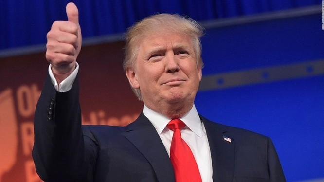 Tân Tổng thống Mỹ vừa đắc cử Donald Trump